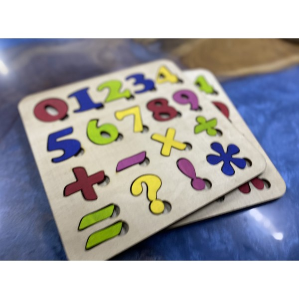Puzzle - Brain Game Numbers