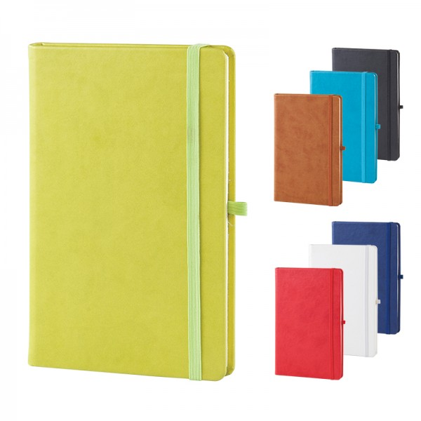 Thermo leather notebook size: 13X21 Cm 917