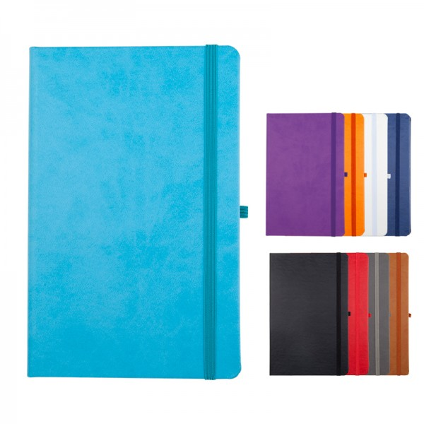 Thermo leather notebook size: 13X21 Cm 920 Eco