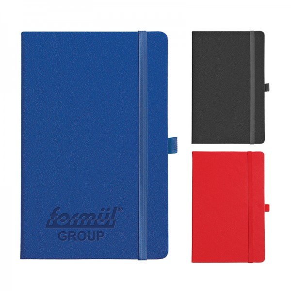Thermo leather notebook size: 13x21 Cm 929-1321