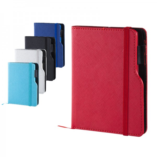 Matte Thermo leather notebook size: 10X14 Cm 942