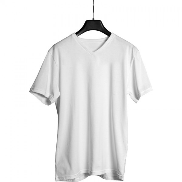 Double Sided Printed Promotional T-Shirt - V-Neck
