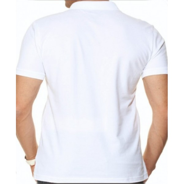 Double-Sided Printed Promotional T-Shirt - Polo Neck